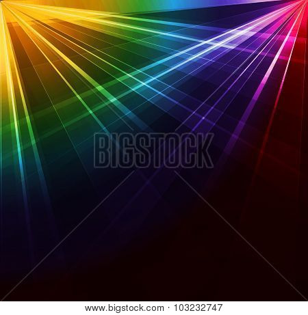 Spotlight background. Vector illustration.