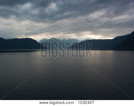 Cloudy Fiords