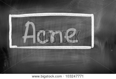 Acne Concept