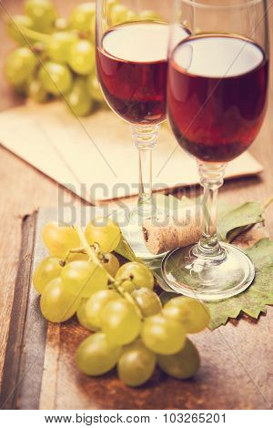 Grape With Wine