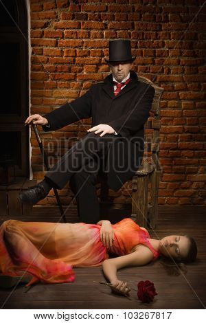 Vampire And His Victim