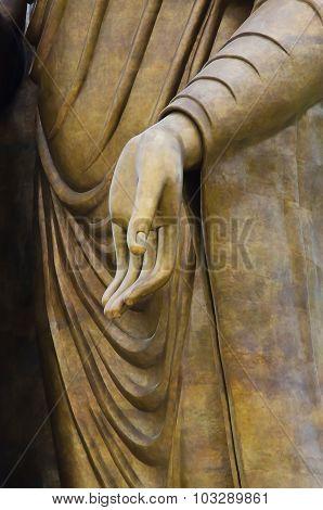 Statue Hand Of Buddha Image