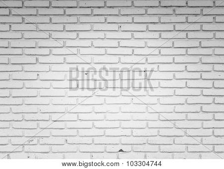 White Wall Blick Center Light Background.