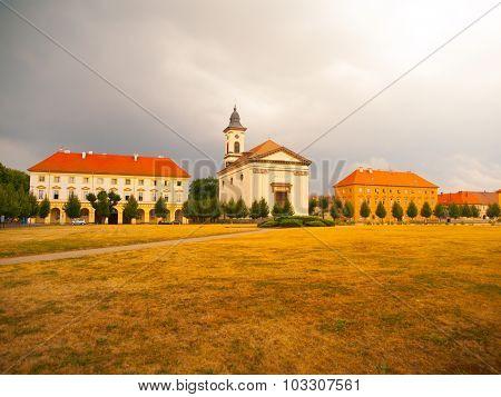 Town square in Terezin
