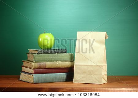 Back to School Themed Background Image