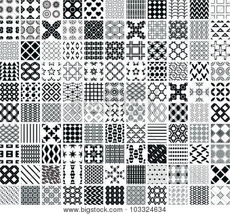 110 Seamless Geometric Patterns