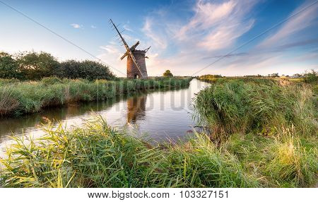 Windmill On The Norfolk Broads