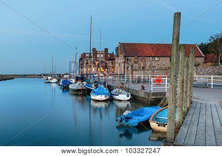 The Quay At Blakeney In Norfolk