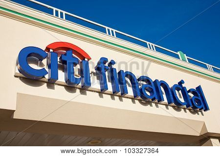 Citi Financial Sign