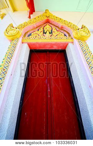 Kho Samui Bangkok In Thailand Incision Of The   Temple