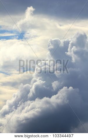 Puffy White Clouds