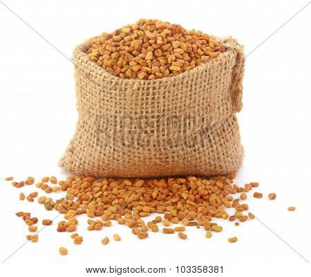 Fenugreek Seeds In Sack