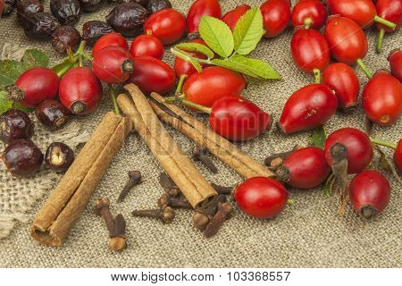 Natural Pharmacy. Traditional medicine for flu and colds.