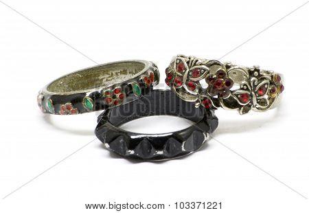 Vintage Metallic Rings