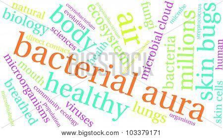 Bacterial Aura Word Cloud