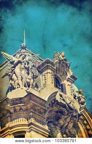 Bucharest Old Architecture