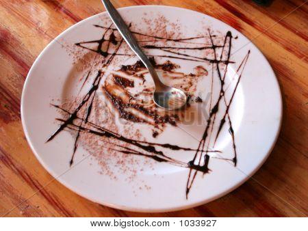Empty Desert Plate