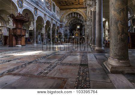San Marco Basilica, Rome, Italy