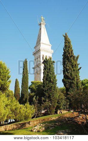 Church Of Saint Euphemia In Rovinj