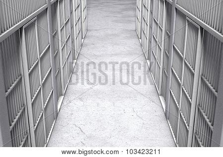 Jail Cell Corridor Top
