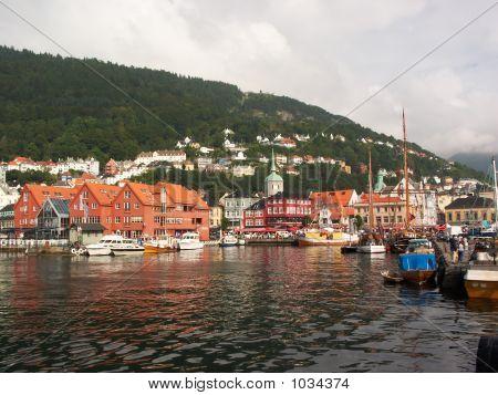 Norway. Bergen Port