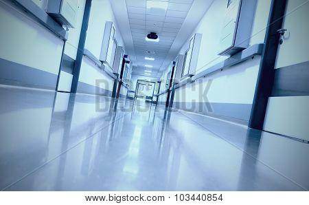 Ominous, Eerie Corridor