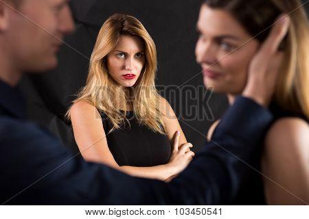 Macho Cheating On His Girlfriend