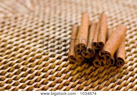 Cinnamon On Rattan