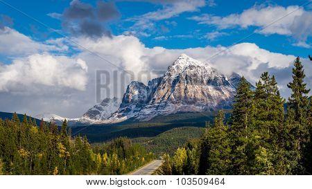 Mount Fitzwilliam in Jasper National Park
