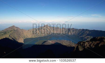 Rinjani Mountain