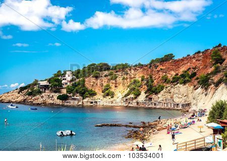 Cala D'hort Beach Of Ibiza