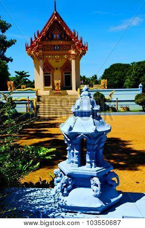 Kho Samui Bangkok In Thailand Incision Sidewalk Temple
