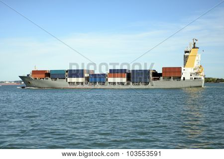 Large Ship Container