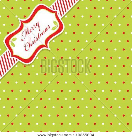 Christmas Polka Dot
