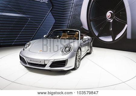 2016 Porsche 911 Carrera S Cabriolet