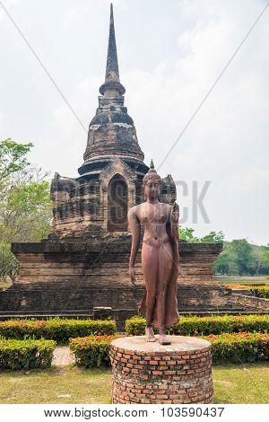 The Walking Buddha