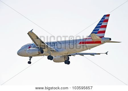 American Airlines Commercial Jet