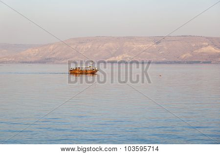Sea (lake) Of Galilee. Tiberias. Lower Galilee. Israel.