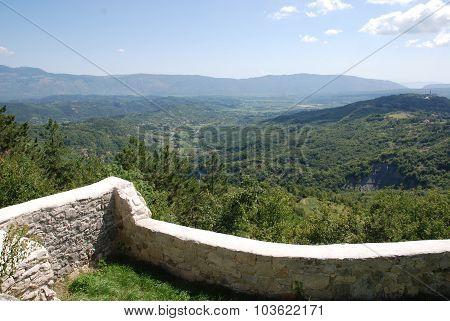 Landscape Around Gracisce