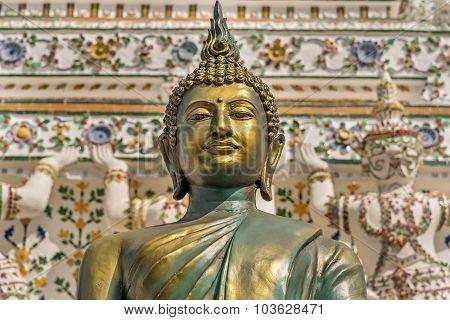 Bronze Buddha At Wat Arun