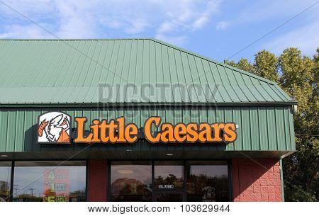 Little Caesars Storefront Sign