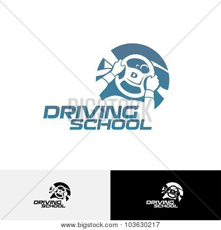 Driving School Logo Template