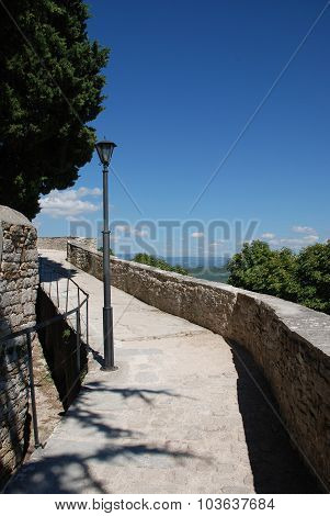 Motovun City Walls