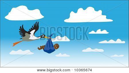 The Stork Bears The Child