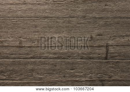 Untreated Wooden Screen Of Boards