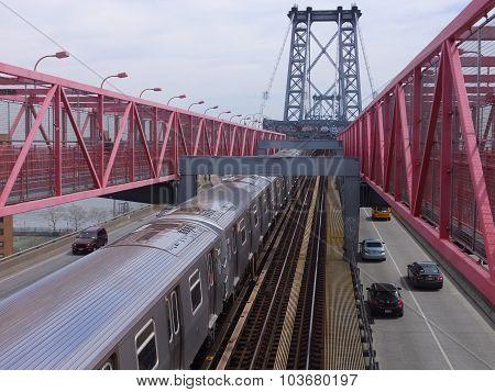 Williamsburg Bridge in New York
