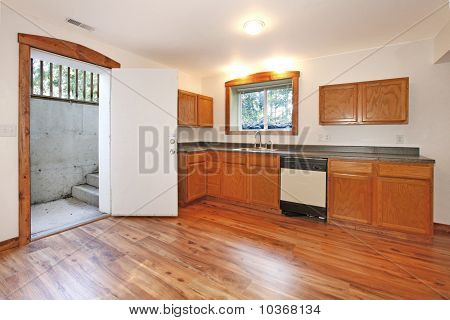 Kitchen in the basement