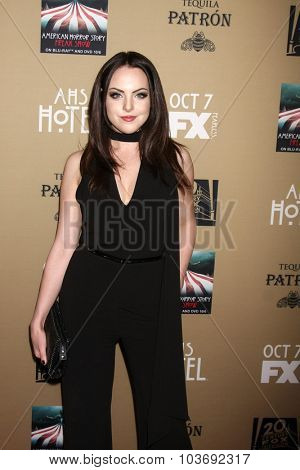 LOS ANGELES - OCT 3:  Liz Gillies at the