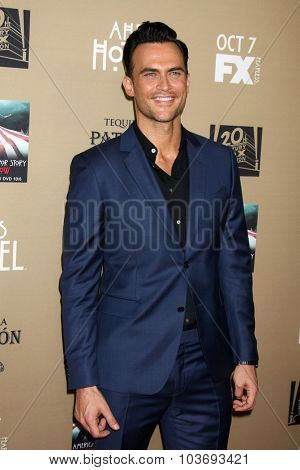 LOS ANGELES - OCT 3:  Cheyenne Jackson at the