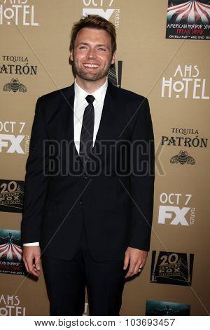 LOS ANGELES - OCT 3:  Seth Gabel at the
